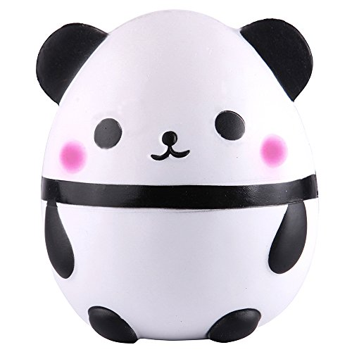 Anboor 5.5 Inches Squishies Jumbo Slow Rising Scented Kawaii Squishy Panda Egg Animal Toy for Collection 1 Pcs Color Random