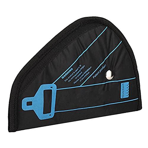 Shipenophy De Moda, cómodo, Fuerte, posicionador de Asiento, cinturón, Dispositivo, Protector, Profesional, Agradable, Duradero para Mejorar la Seguridad del Coche(Black)