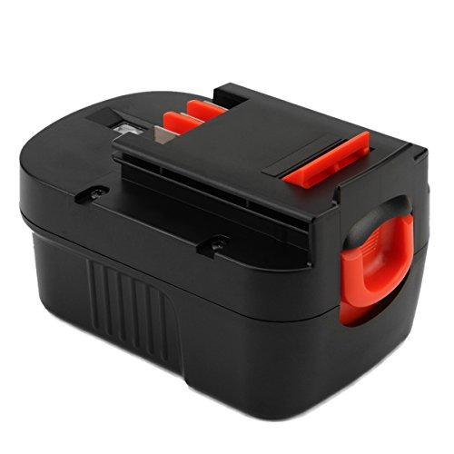 Hanaix 14.4V 3.0Ah Replacement Battery Compatible with Black+Decker HPB14 FSB14 499936-34 499936-35 A14 A14F A144 A1714 HPD14K-2 CP14KB HP146F2 HP148F2R A144EX BD1444L BPT1048 B-8316 FS140BX PS140