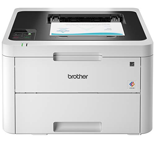 Brother HL-L3230CDW Compact Digital Color Printer Providing Laser Printer Quality Results with Wireless Printing and Duplex Printing, Amazon Dash Replenishment Enabled
