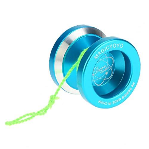 linjunddd Professionelle N8 Aluminiumlegierung-Metall Yoyo 8 Ball Kk Lager Mit Spinning Schnur Für Kinder Gold