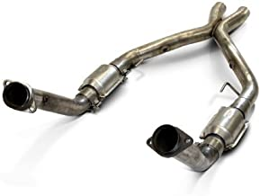 SLP M31538 PowerFlo-X Crossover Pipe, Full Assembly, 2005-09 Mustang GT w/Cats