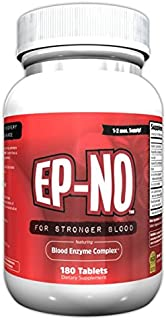 EP-NO Natural Red Blood Builder 180 Tablets Compare to EPO-BOOST