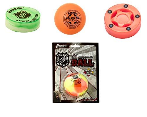 Franklin, Base Streethockey Ball & Puck Set Standard