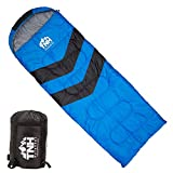 TNH Outdoors Sleeping Bag âMummy Lightweight Portable, Waterproof, Comfort with Compression Sack âGreat for 3 â4 Season Camping Warm in Winter, Travelling, Hiking, Adult Outdoors Gear
