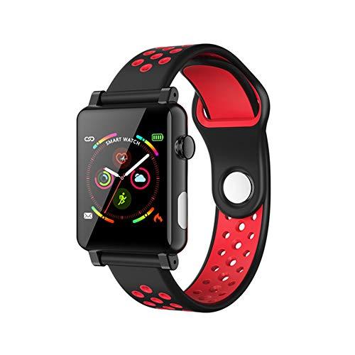 mcy0202 1,3 Zoll IPS Smartwatch, Fitness Tracker mit EKG + PPG Herzfrequenz Blutdruckmessgerät, Fitness Armband Aktivitäts Tracker für iOS Android Frauen Männer Kinder