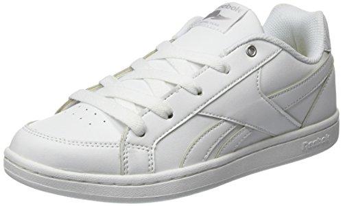 Reebok Royal Prime, Zapatillas Unisex Niños, Blanco (White/Silver 0), 38 EU