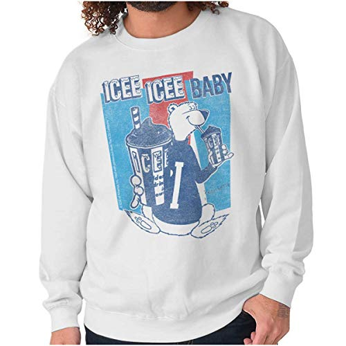Icee Icee Baby Polar Bear Retro Sweatshirt for Women, S to 5XL