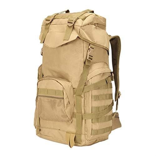 Zishine Mochila táctica Militar Ejército Ejército de Asalto de 3 días 50L Molle Bag Sports al Aire Libre Escalada Camping Impermeable,Style b