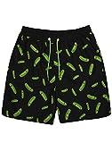 Rick and Morty Swim Shorts Hombre Adultos Pickle Rick Shorts De Baño