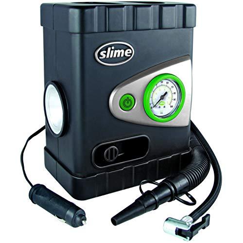 Slime 40034 All-Purpose 12V Dual Raft Pump Tire Inflator