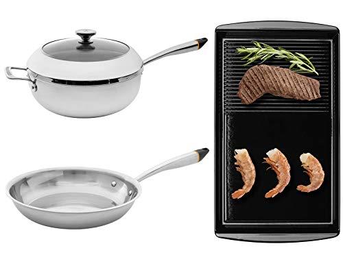 Oranier SET Chef's Pot 9209 26 + Pfanne 9209 25 + Grill-Platte 9209 11