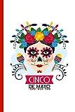 Cinco de Mayo: Calavera Makeup with Mexican Blanket Design Journal. (Spanish Edition)