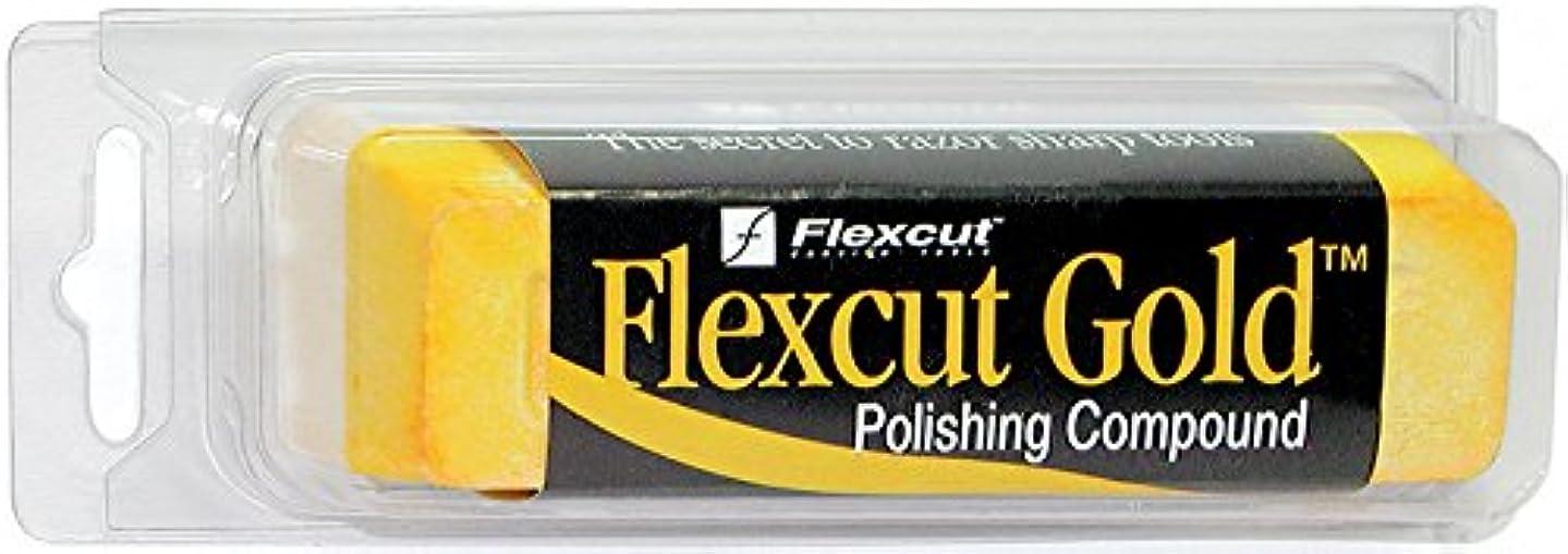 Flexcut Gold Polishing Compound, 6 Oz Bar, (PW11)