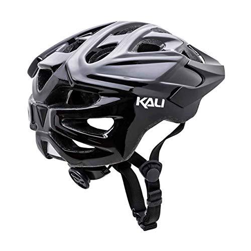 Kali Protectives Chakra Solo Helmet Solid Gls Black, L/XL
