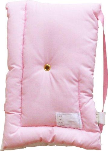 (財) 日本防炎協会認定品 日本製 防災頭巾 28×42cm Mサイズ 子供・女性向け ピンク