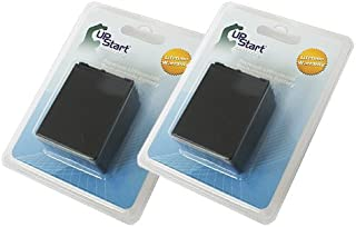 Upstart Battery 2X Pack - NP-FV100 Replacement Fully Decoded Battery for Sony CX300, NEX-VG10, CX700, CX200, PJ760V, CX150, CX130, CX560, CX160, PJ10, CX190, SR21, TD10, XR160 Camcorders Brand with