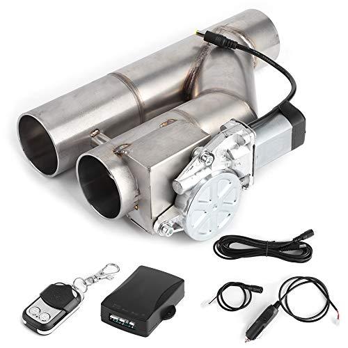 Válvula de escape eléctrica, control de escape de tubo en Y eléctrico...