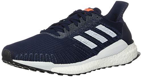 adidas Herren Solar Boost 19 M Laufschuh, Sneaker, Blau (Collegiate Navy / Blue Tint / Solar Oran), 43 EU