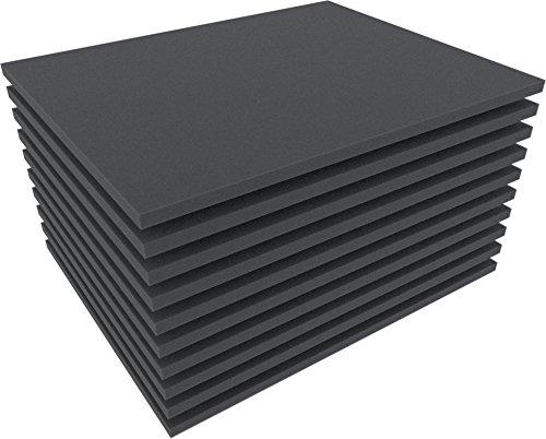Feldherr FS010B 10 pcs. Set 10 mm (0,4 Inch) Figure Foam Tray Full-Size Bottom / Topper