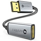 4K DisplayPort to HDMI Adapter Cable, WARRKY...
