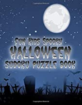 Fun Kids Spooky Halloween Sudoku Puzzle Book: From Easy to Challenging and Medium Puzzles, Using Images Instead of Numbers!