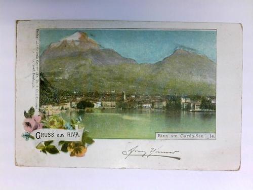 Postkarte: Gruss aus Riva - Riva am Garda-See