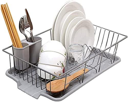 TFJJSQA Especial/Simple Conveniencia Cocina Vajilla Almacenamiento Rack Frood Fregadero Estante Estante Estante Estante Durable (Tamaño: Frente) (Size : Side)