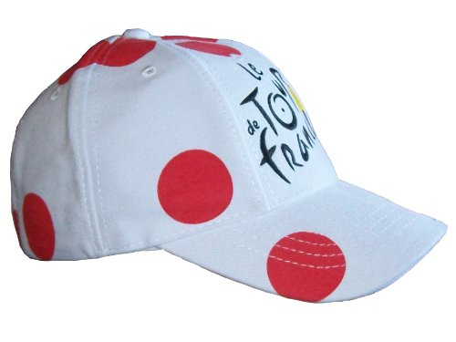 Casquette – Collection officielle Le Tour de France de Cyclisme 2014 – Maillot à Pois Grimpeur - 2
