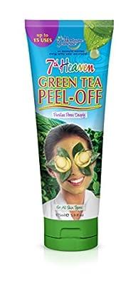 7th Heaven Green Tea Peel Off Mask Tube