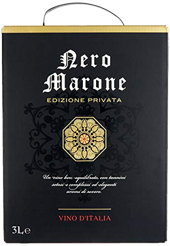 Nero Marone Rouge Italien rotwein (1 x 3 l)