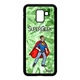 utaupia Coque Silicone J6 2018 Super Geek Play Comics Vert Comique BD Bumper Console Jeux Video Telephone Nerd Heros Rigide Samsung Galaxy