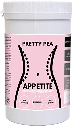 Appetite Control by Pretty Pea | Weight Loss Supplement | Appetite Suppressant | Glucomannan + High...