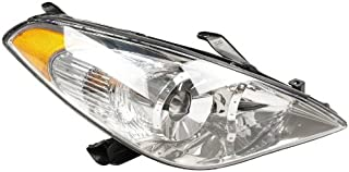 OE Replacement Toyota Solara Passenger Side Headlight Assembly Composite (Partslink Number TO2503152)