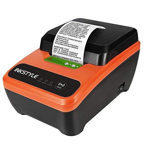 TL Der Drucker, schnelles Drucken 58mm Kartonbereich, einfache Bedienung, stabile Performance, für Home-Office, rot