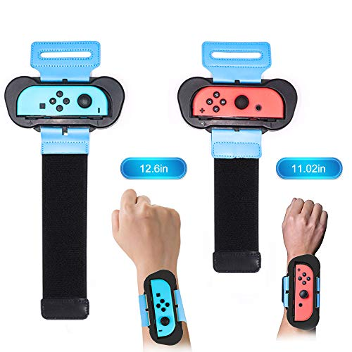 Joytorn Just Dance 2021 Just Dace 2020-Dance Kids Comfortable Wristband for Nintendo Switch,Adjustable Elastic Strap Two Sizes for Adults and Children,2 Pack