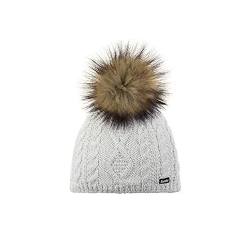 Eisbär Women's Nelia Lux MÜ Cap, White-h.Braun, Standard Size
