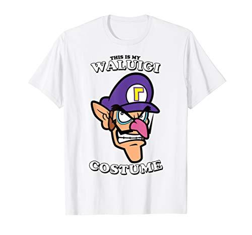 Super Mario This Is My Waluigi Costume T-Shirt