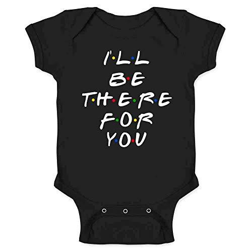 Findom How You Doin Best Friends Funny Retro 90s Cute Infant Baby Boy Girl Bodysuit