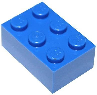 LEGO Parts and Pieces 2x3 Reddish Brown Brick x200