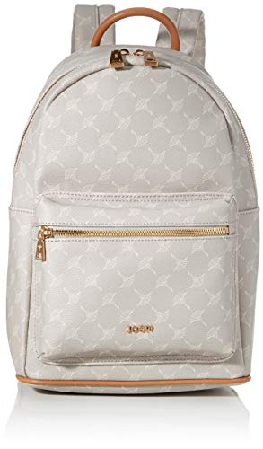 Joop! Damen Cortina Salome Backpack Mvz Rucksack, Grau (lightgrey), 15x33x23 cm