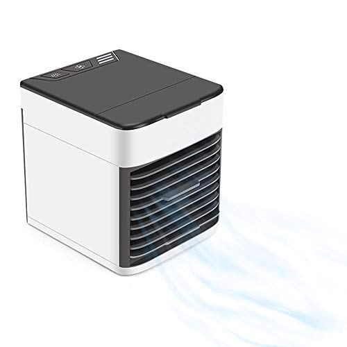 Portable Air Cooler, Personal Mini Air Conditioner, Humidifier With Usb, 3-Speed Desktop Cooler For Home, Office, Dormitory, Travel