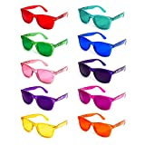 GloFX Color Therapy Glasses 10-Pack Chakra Glasses Chromotherapy Glasses Light Therapy