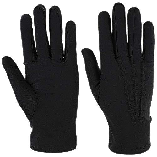 Schwarze Handschuhe | in Einheitsgröße | mit Biesen | für Damen und Herren