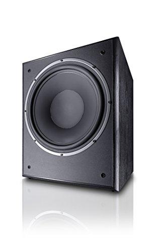 Magnat Monitor Supreme 302 A I Aktiver Frontfire Bassreflex Subwoofer mit hoher Klangqualität I 1 Stück, Farbe:Schwarz