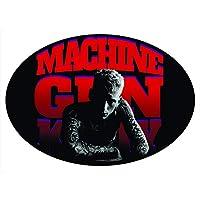C&D Visionary Machine Gun Kelly Red Logo Sticker, Multi-Colored