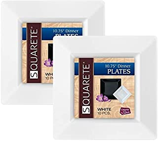Best square plates white Reviews