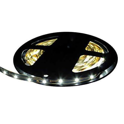 LEDテープライト 5m 300灯 12V 両端子 1チップ 薄型 非防水 単体 白色