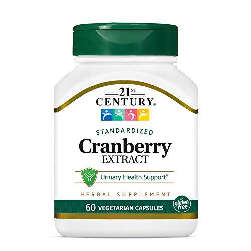 21st Century Cranberry Extract Veg Capsules, 60 Count