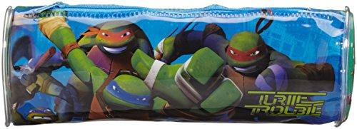 Atosa Teenage Mutant Turtles Trousse Garçon Tortues Ninja, 15605, 20 x 7,5 cm